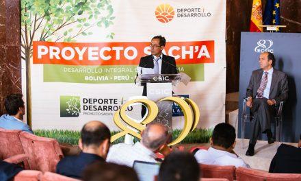 Exitosa presentación oficial del Proyecto Sach'a en Madrid