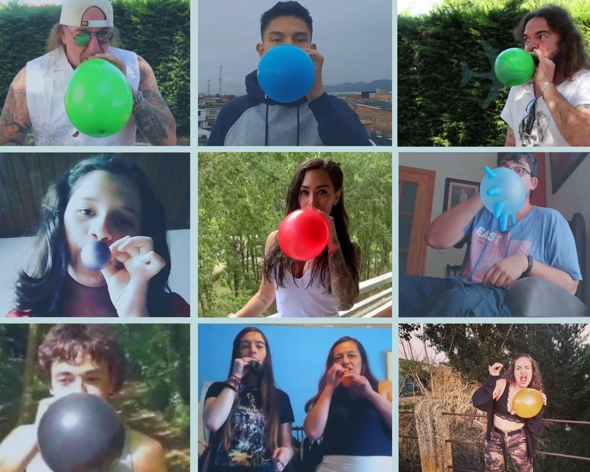 Personas por todo el mundo participan del#GaiaChallenge